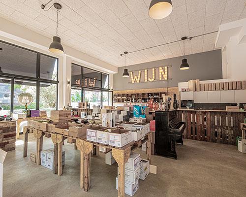 Heeren van de Wijn Veenendaal binnen in winkel