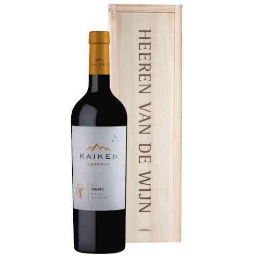 Heeren van de Wijn Geschenk Kaiken Malbec