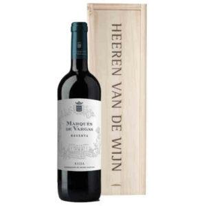 Heeren van de Wijn Geschenk Marques de Vargas Reserva