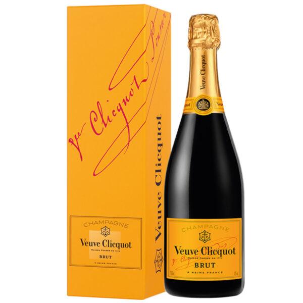 Veuve Clicquot Brut (Carte Jaune) Champagne in designbox   Heeren van de Wijn