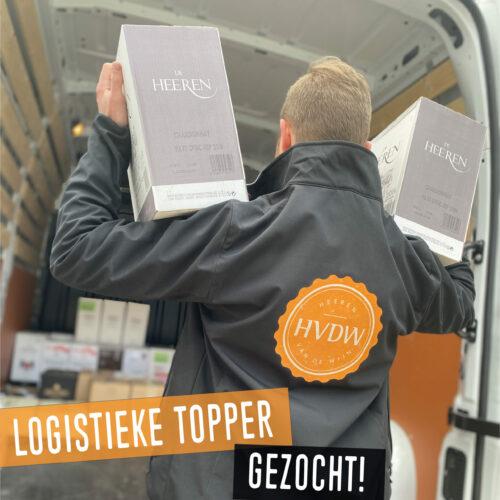 Logistieke Topper | Heeren van de Wijn